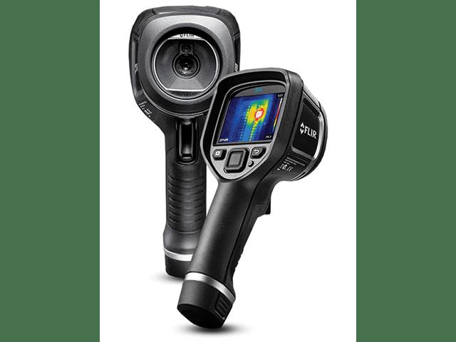 A Close Up Of A FLIR Infrared Camera