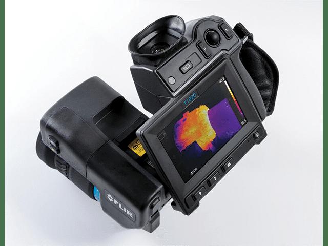 FLIR T1020 Camera Closeup