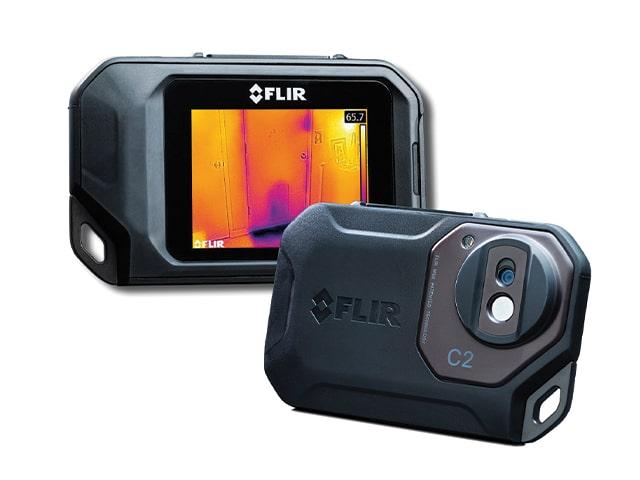 A Close Up Of A FLIR Camera