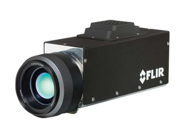 A Close Up Of A FLIR G300A Camera